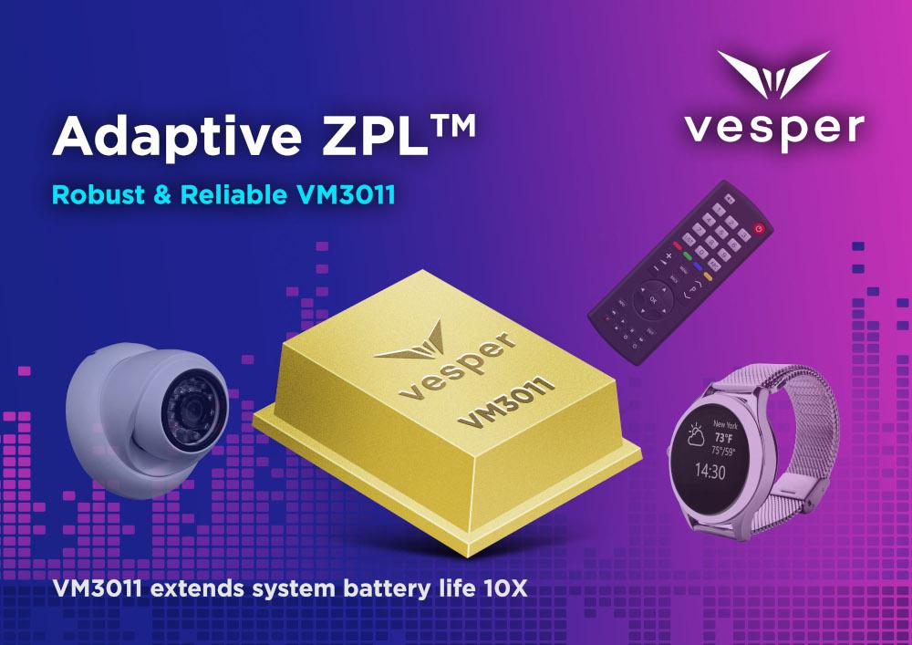 Vesper の世界初Adaptive ZeroPower Listening™技術が、スマートホームデバイスの「ハンズフリー」を実現