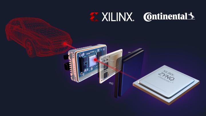 ザイリンクスとコンチネンタルが協業、業界初となる量産対応の自動運転用4Dイメージングレーダーを開発