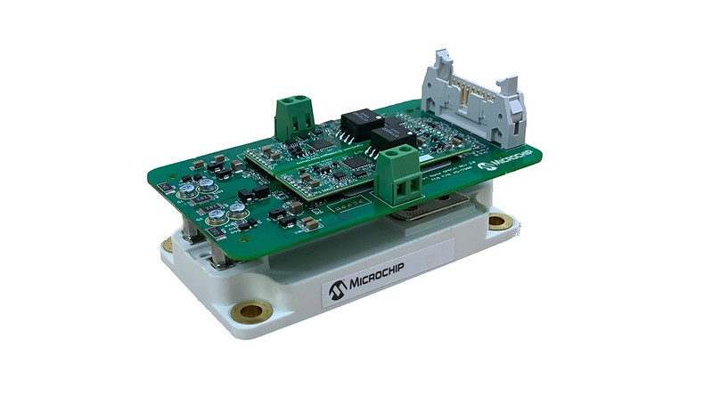 Microchipがインバータ設計向けプログラマブル ゲートドライバ キットを発表