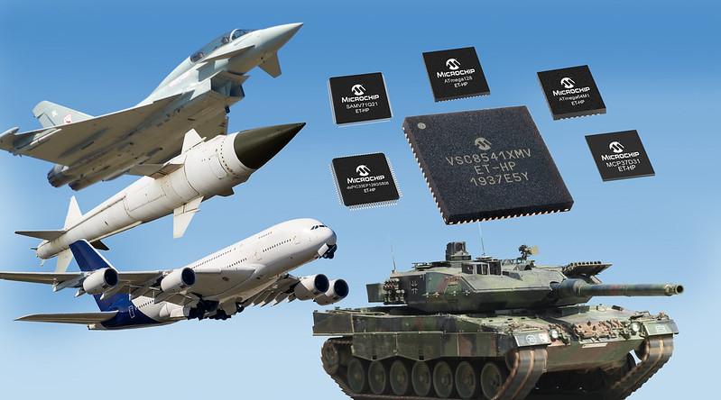 Microchipが航空宇宙、軍用地上応用向け高信頼性の拡張温度仕様Ethernet PHYトランシーバ発表