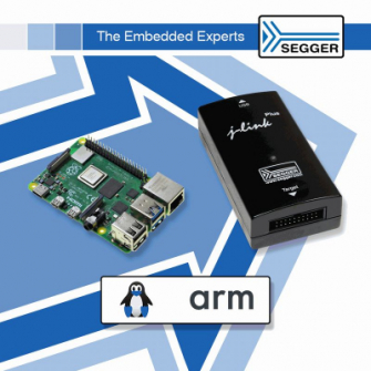 ポジティブワンがIoT開発を加速できるRaspberryPi対応SEGGER J-Link開発ツール販売