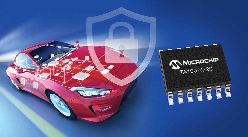 Microchipがセキュリティプログラム済み車載向け暗号コンパニオンデバイスを発表