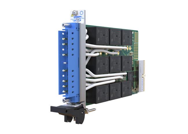 ピカリングがPXIスロットを1個に抑えた高AC/DC負荷スイッチ・モジュール発表