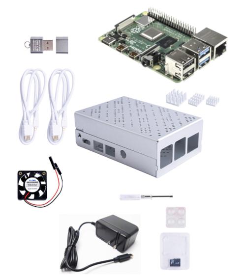 アールエスコンポーネンツ、RaspberryPi 4スターターキットを発売