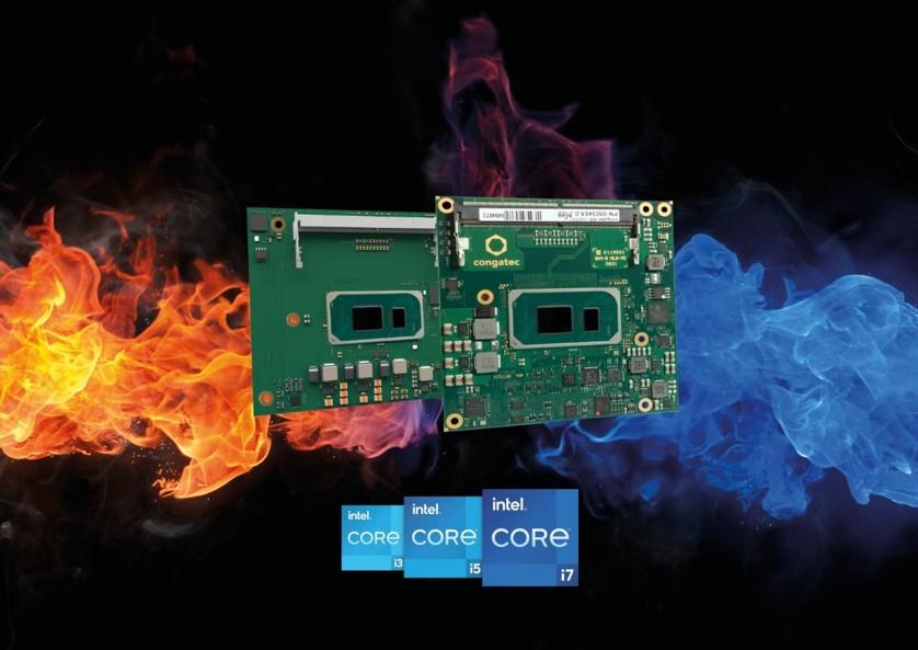 コンガテックが屋外、車載アプリケーション向けに過酷な温度環境に対応する第11世代Intel® Core™プロセッサ搭載最新モジュール発表