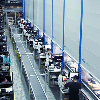 マウザー・エレクトロニクスが先進の自動化技術で物流センターを強化