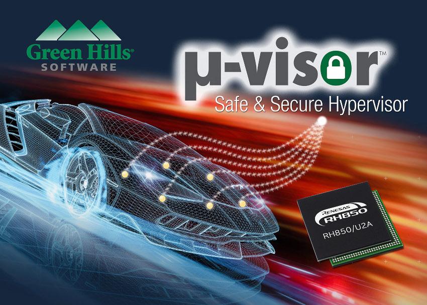 グリーン・ヒルズ・ソフトウェアが組み込みマイクロコントローラ向けに業界最高レベルの安全性とセキュリティを誇る仮想化機能を実現