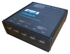 ポジティブワンから自動車用イーサネットスイッチ「BroadR-Reach/OABR/100Base-T1/1000Base-T1」用8ポートスイッチ