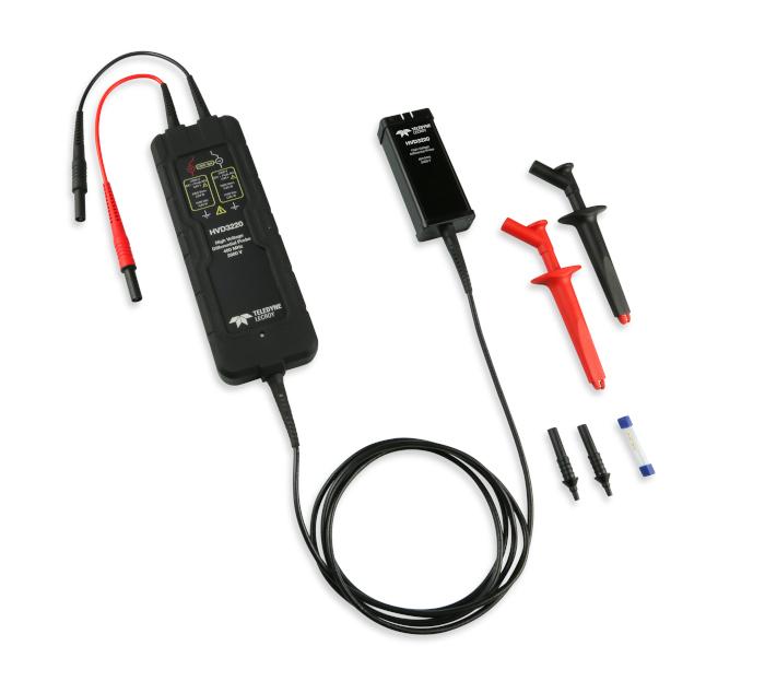 テレダイン・レクロイが高速化するパワーエレクトロニクス測定に最適な400MHz帯域、2kV高圧差動プローブ発表