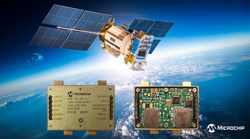 Microchipが宇宙用部品認定済みCOTSベース RH(Radiation Hardened)DC/DCコンバータ発表