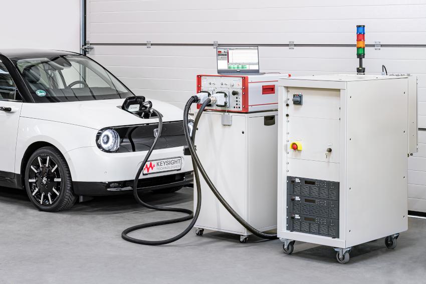 キーサイトが電気自動車用充電グリッド・エッジ・アプリケーション向けのテストソリューションを発表