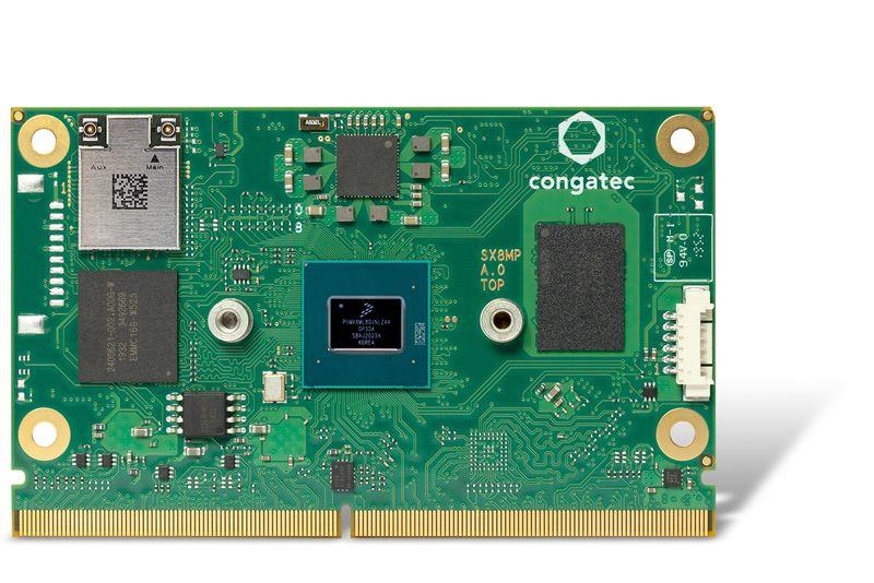 コンガテックがNXP i.MX 8M Plusプロセッサ搭載のSMARC 2.1モジュールを発表