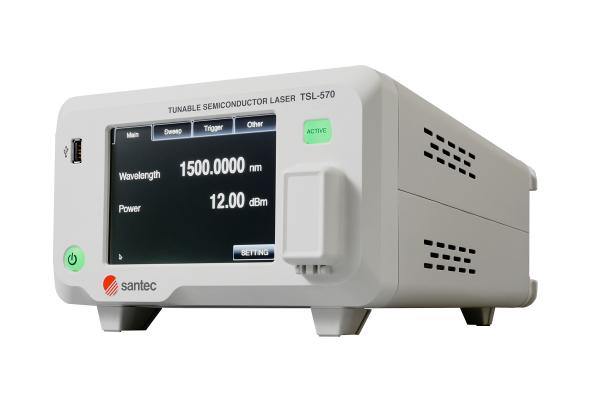 santecが性能・機能・品質を向上させた高速波長可変光源を発表