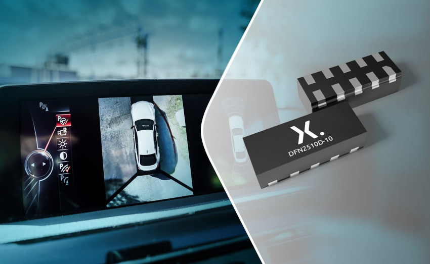 Nexperiaが車載アプリケーションの高速インターフェース向け新ESD保護デバイス発表