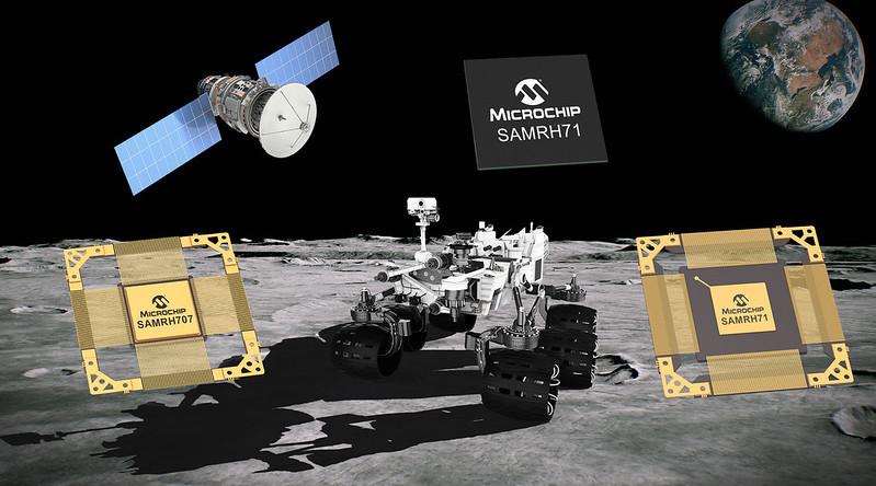 Microchipが宇宙システム向けRH(耐放射線強化) Arm(R)コア採用マイクロコントローラ ファミリの拡充を発表