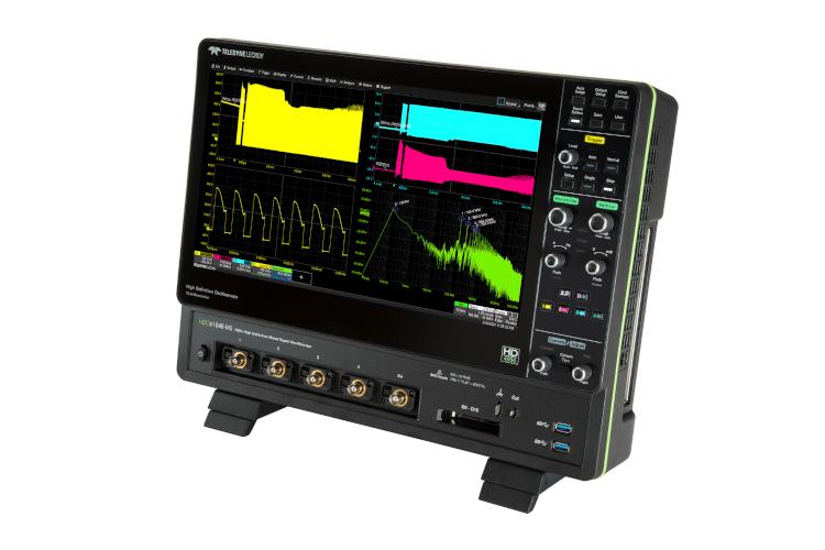 テレダイン・レクロイの新機種HDO6000Bシリーズ、HDO6000Aオシロスコープに15.6インチ高解像度ディスプレイ搭載