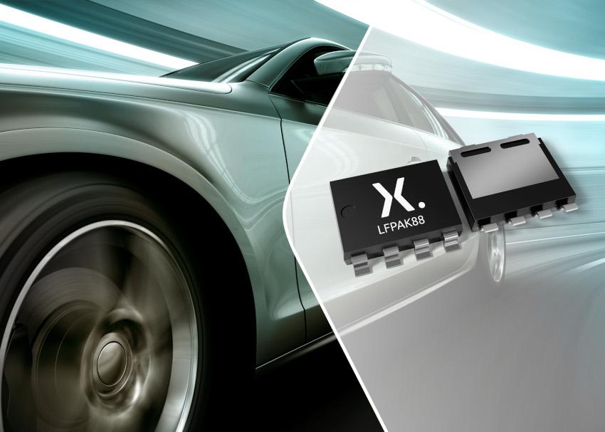 Nexperiaが車載/産業アプリケーション向けに電力密度が最高の低RDS(on) 40V MOSFETを発表