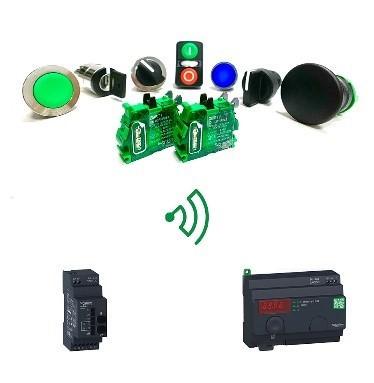 シュナイダーエレクトリックが配線レス・バッテリーレスの無線スイッチにビジュアルフィードバックオプションを追加販売