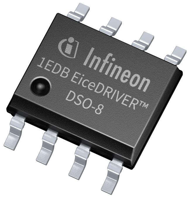 インフィニオンがEiceDRIVER™ 1EDBシングルチャネルゲートドライバICファミリに、ガルバニック絶縁を内蔵した150ミルの小型8ピンDSOパッケージを提供
