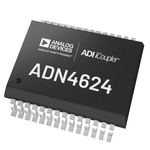 アナログ・デバイセズが10GbpsのiCouplerデジタル・アイソレータの新製品「ADN4624」を発表