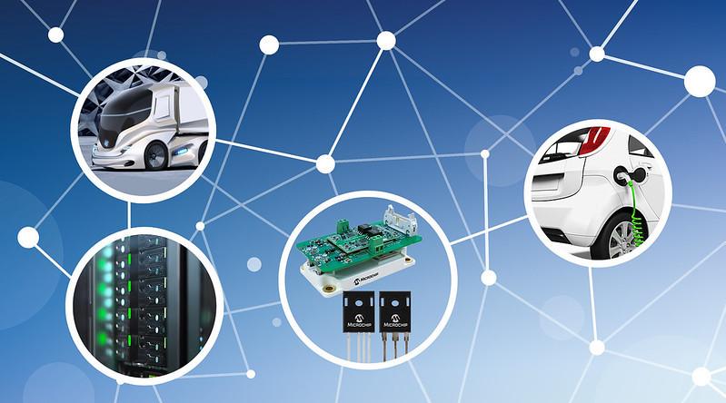 MicrochipがシリコンIGBTを置き換える堅牢な 1,700 Vシリコン カーバイド パワー ソリューションを発表