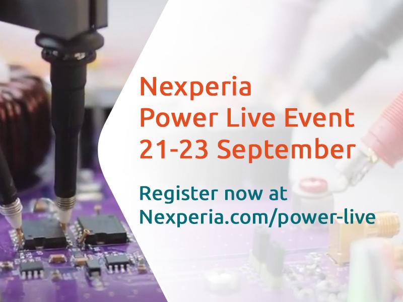 Nexperia Power Live