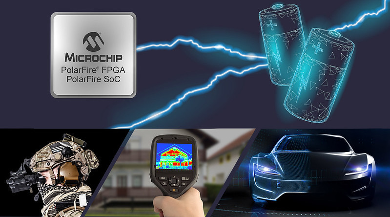 Microchipが消費電力と性能に優れたエッジ コンピューティング システム向けミッドレンジFPGA発表