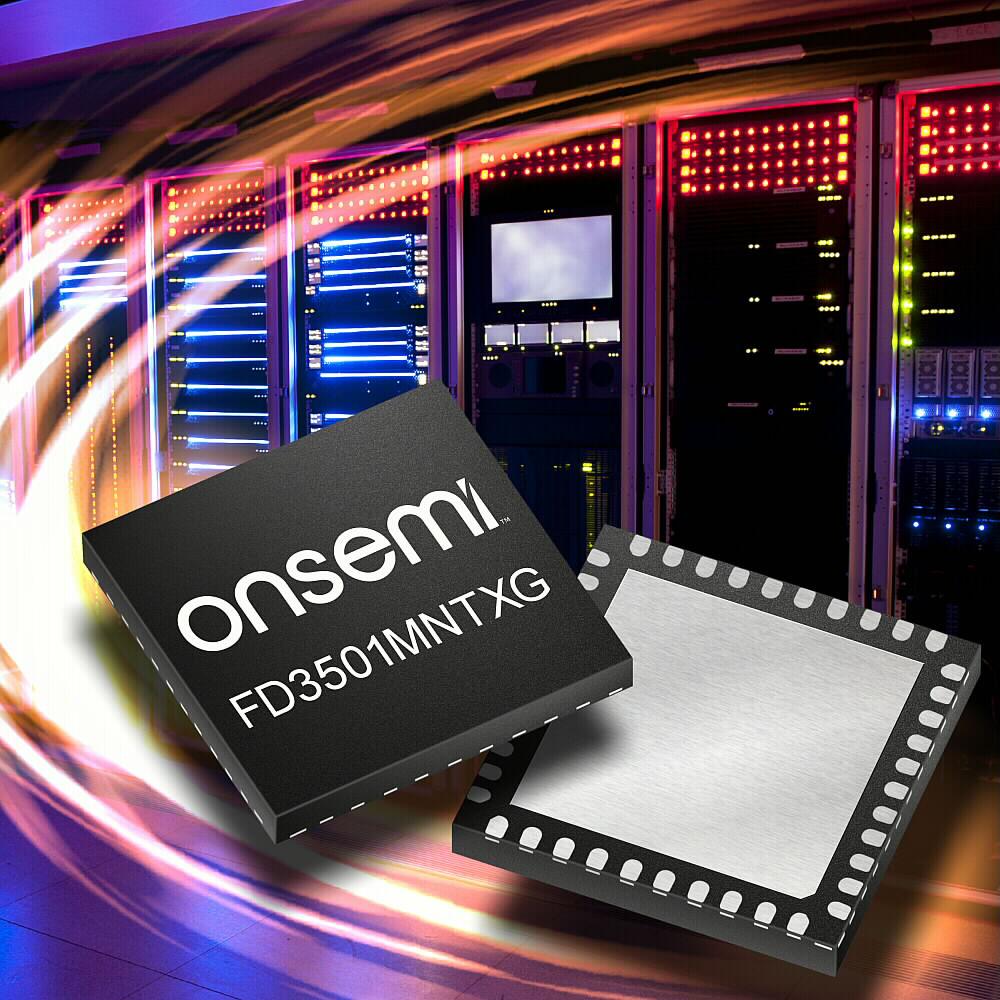 オンセミのインテリジェント技術がRamaxel社の次世代サーバの全ノードに電力を供給