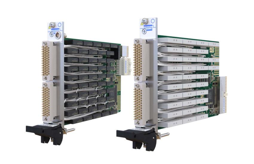 ピカリング インターフェースがスイッチ密度2倍の新PXI/PXIe 5Aパワー・リレー・モジュール発表