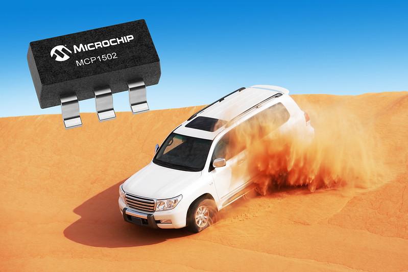Microchipが」拡張温度に対応した車載向け高精度低ドリフト電圧リファレンスを発表